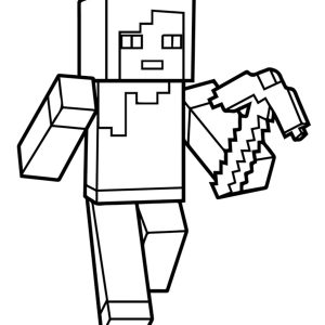37 Awesome Printable Minecraft Coloring Pages For Toddlers