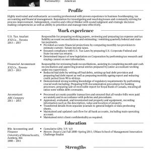 Resume Examplesreal People: Cpa Tax Accountant Resume