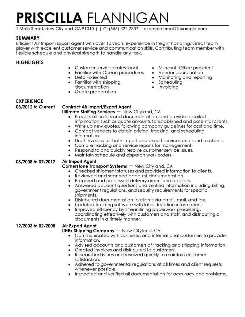 7 Amazing Government & Military Resume Examples   Livecareer
