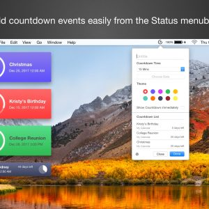 Event Countdown On The Mac App Store