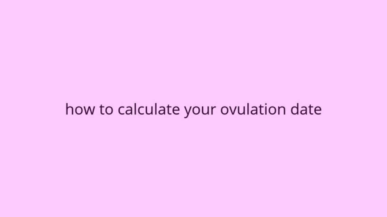 Calculate Your Chance Of Getting Pregnant - Symptoms Of You're Ovulation