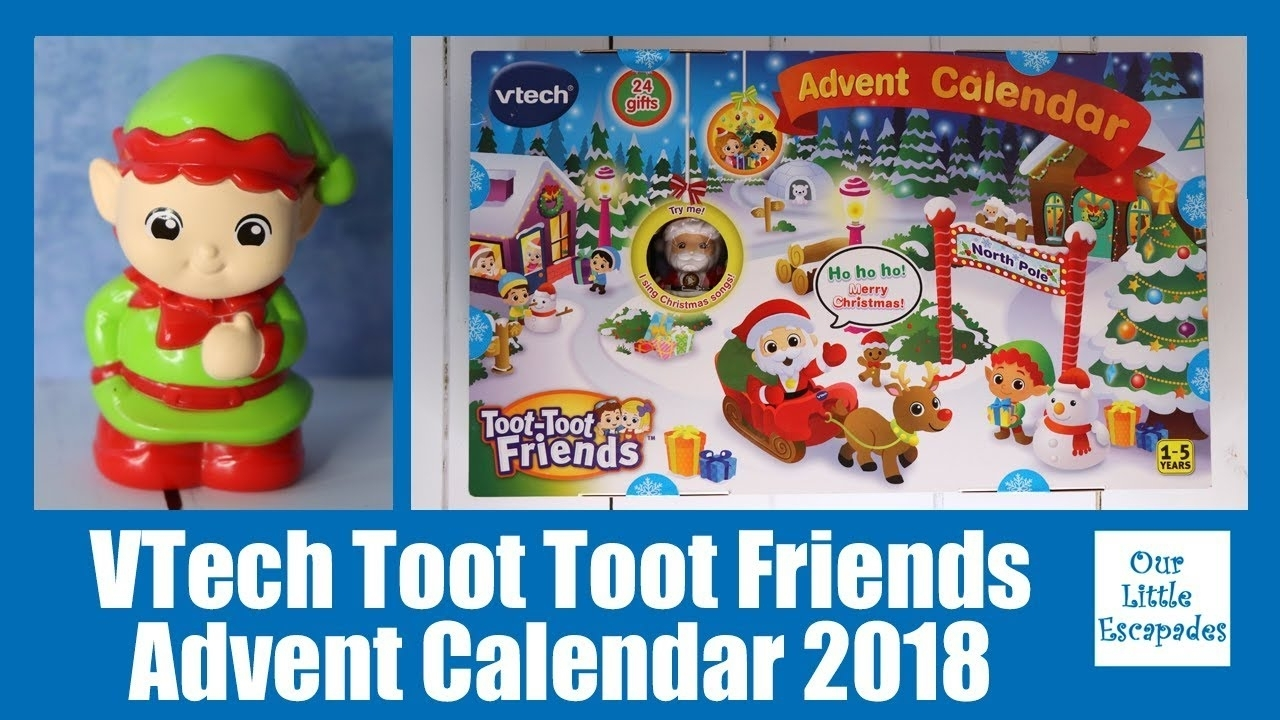 Vtech Toot Toot Friends Advent Calendar 2018 Review Unboxing The Contents