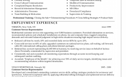 12 Good Resume Examples For Customer Service | Sample