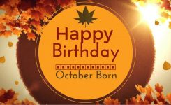 20 Awesome October Birthday Wishes-October Birthday