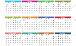 2019 English Generic Calendar A3, Easy Cropping For The Busy