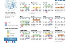 2020 California Courts Calendar | California Courts Newsroom
