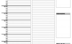 2020 Printable Daily Planner | Planner Templates