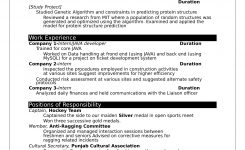 32+ Resume Templates For Freshers – Download Free Word Format