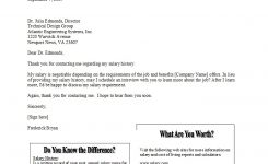 34 Best Salary Requirements Cover Letters (+Tips) ᐅ