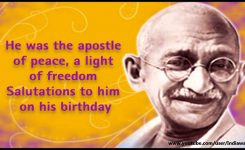 85+ Best Gandhi Jayanti 2018 Wishes Picture Ideas