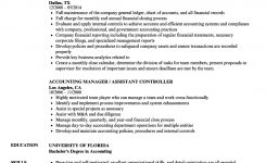 Accounting Manager, Controller Resume Samples | Velvet Jobs