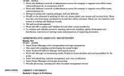 Administrative Assistant / Receptionist Resume Samples
