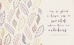 Anne Of Green Gables   To Live Beautifully   Hello October