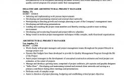 Architectural Project Manager Resume Samples | Velvet Jobs
