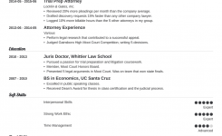 Attorney Resume: Sample And Complete Guide [+20 Examples]