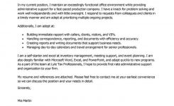 Best Administrative Assistant Cover Letter Examples | Livecareer