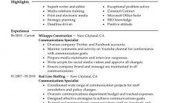Best Communications Specialist Resume Example | Livecareer