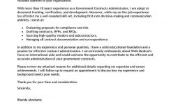 Best Government & Military Cover Letter Examples   Livecareer