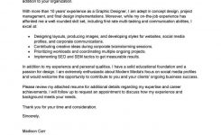 Best Graphic Designer Cover Letter Examples | Livecareer