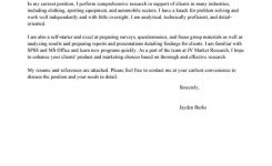Best Market Researcher Cover Letter Examples | Livecareer