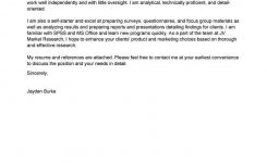 Best Market Researcher Cover Letter Examples   Livecareer