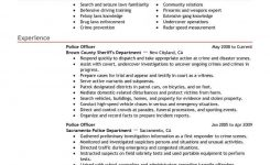 Best Police Officer Resume Example | Livecareer