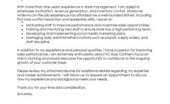 Best Retail Assistant Manager Cover Letter Examples