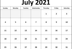 Blank Calendar Pages 2021 Various Themes