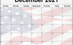 Collection Of December 2021 Photo Calendars With Image Filters.