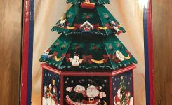 Costco Kirkland Wooden Christmas Advent Calendar Tree- #892018 W/ 24  Ornaments
