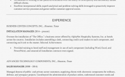 Customer Service Manager Resume Example And Writing Tips
