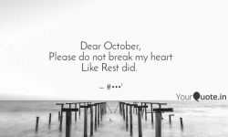 Dear October Quotes