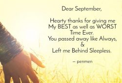 Dear September Quotes