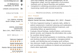 Resume Objective Dental Hygienist