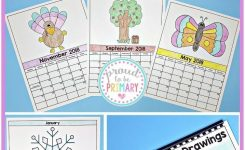 Directed Drawing Calendar Parent Gift [Includes 2019-2021 +