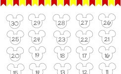 Disney World Countdown Calendar – Free Printable!! | Disney