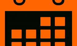 Calendar Icon Png Orange