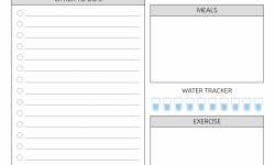 Daily Planner Template Free Printable Daily Planner Pdf