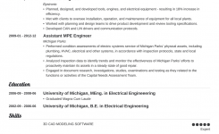 Electrical Engineering Resume: Sample & Writing Guide (20+