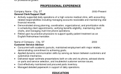 Entry Level Bookkeeper Resume Sample | The Best Template