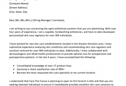 Example Cover Letter For Resume Free