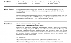 Example Customer Service Resume Sample – Tipss Und Vorlagen