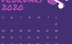 February 2020 Iphone Calendar Wallpaper In 2019 | Calendar