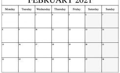 February 2021 Printable Calendar | Dream Calendars