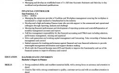 Financial Controller Resume Samples | Velvet Jobs