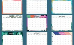 Free 2020 Printable Calendars – 51 Designs To Choose From!