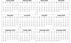 Free Printable Calendar 2019 With Holidays | Blank 12 Month