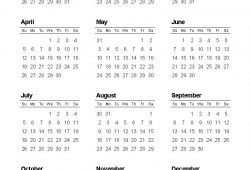 Calendar Pages To Print 2021 Yearly For All Users