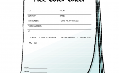Free Printable Fax Cover Sheets | Free Printable Fax Cover