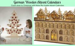 German Wooden Advent Calendars- Use Them Every Year! | A